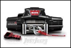 WARN ZEON 10 Platinum Winch With 80' Wire Rope & Roller Fairlead 92810