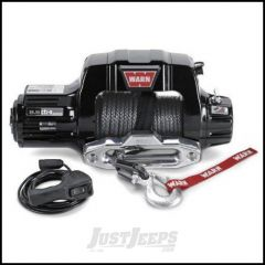 WARN 9.5cti-s Self-Recovery Winch (12V DC) 100' Synthetic Rope and Hawse Fairlead 97600