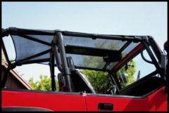 Warrior Products Breezer Top For 2007-14 Jeep Wrangler JK Unlimited 4 Door Models 1170