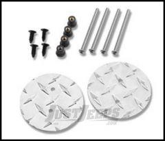 Warrior Products Mirror Mount Hole Plug For 2007-14 Jeep Wrangler JK 2 Door & Unlimited 4 Door Models 1506