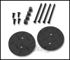 Warrior Products Mirror Mount Hole Plug For 2007-14 Jeep Wrangler JK 2 Door & Unlimited 4 Door Models 1506PC