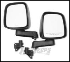 Warrior Products Adventure Door Mirror and Mount Kit For 2007-14 Jeep Wrangler JK 2 Door & Unlimited 4 Door Models 1519