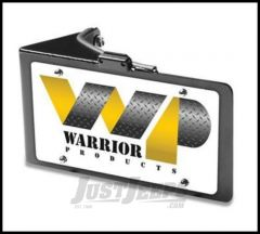 Warrior Products Side Mount License Plate Bracket with LED For 2007-18 Wrangler with with LED Rear Corners 1563