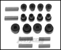 Warrior Products Replacement Shackle Bolts and Bushing Kit For 1976-86 Jeep CJ Series 1802