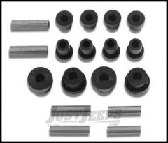 """Warrior Products Replacement Greaseable Shackle Bolts and Bushing Kit For 1976-86 Jeep CJ With 3"""" Wide Springs 1806A"""