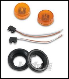 Warrior Products Tube Flare LED Side Light Kit For 1987-18 Jeep Wrangler, Rubicon and Unlimited Models 2731