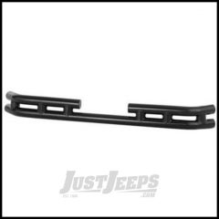 Warrior Products Rear Double Tube Bumper in Black Powder Coat For 1997-06 Jeep Wrangler TJ Models 50010
