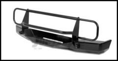 Warrior Products Rock Crawler Front Bumper with Brush Guard, D-Ring Mounts and Winch Mount For 1984-01 Jeep Cherokee XJ 56055