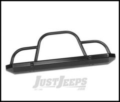 Warrior Products Rock Crawler Front Bumper with Brush Guard For 1976-06 Jeep Wrangler & CJ Series 57050