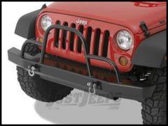 Warrior Products Rock Crawler Front Bumper with Brush Guard and D-Ring Mounts For 2007-18 Jeep Wrangler JK 2 Door & Unlimited 4 Door Models 59051