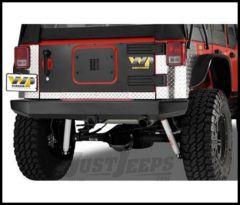 Warrior Products Rock Crawler Rear Bumper For 2007-14 Jeep Wrangler JK 2 Door & Unlimited 4 Door Models 592