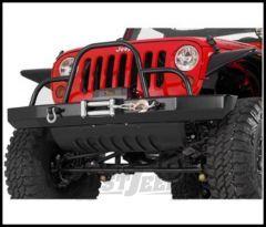 Warrior Products Rock Crawler Front Bumper with Winch Mount For 2007-18 Jeep Wrangler JK 2 Door & Unlimited 4 Door Models 595