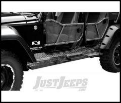 Warrior Products Rock Bars For 2007-18 Jeep Wrangler JK Unlimited 4 Door Models 7412A
