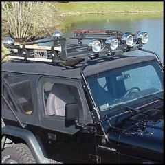 Warrior Products Safari Sport Rack For 2004-06 Jeep Wrangler TLJ Unlimited Models 875