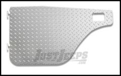 Warrior Products Aluminum Diamond Plate Half Doors with Slider Style Latch For 1955-75 Jeep M38A1 & CJ5 902DOOR