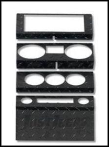 Warrior Products Dash Overlay For 2007-08 Jeep Wrangler JK 2 Door Models 90401PC