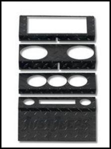Warrior Products Dash Overlay For 2007-08 Jeep Wrangler JK 2 Door & Unlimited 4 Door Models 90402PC