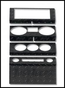 Warrior Products Dash Overlay For 2009-13 Jeep Wrangler JK 2 Door Models 90404PC
