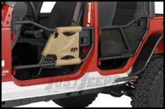 Warrior Products Adventure Door Mesh Covers For 2007-14 Jeep Wrangler JK Unlimited 4 Door Models 90777