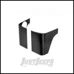 Warrior Products Full Corner Body Armor For 2007-14 Jeep Wrangler JK Unlimited 4 Door Models (Black Dimond) 926PC