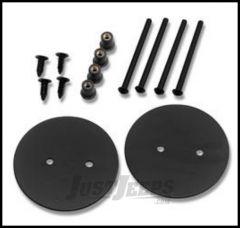 Warrior Products Mirror Mount Hole Plug For 2007-14 Jeep Wrangler JK 2 Door & Unlimited 4 Door Models S1506