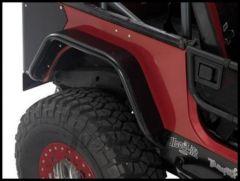 Warrior Products Rear Tube Flares For 1997-06 Jeep Wrangler TJ Models (12-gauge Steel) S7302