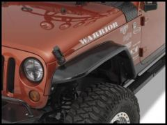 Warrior Products Front Tube Flares For 1987-95 Jeep Wrangler YJ S7321
