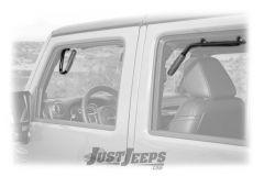 Welcome Distributing Front & Rear GraBars In Black Steel For 2007-18 Jeep Wrangler JK Unlimited 4 Door Models 1005-