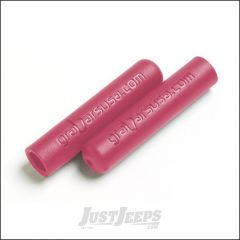 Welcome Distributing Dual Layer Rubber GraBar Grips Pair In Red For All Welcome Distributing GraBars 1017R