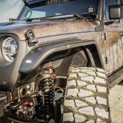 Westin Front Tube Fenders for 18+ Jeep Wrangler JL & 20+ Gladiator JT 62-1025