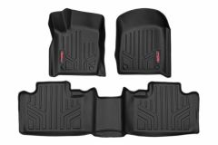 Rough Country Heavy Duty Floor Mats for 2013-2020 Jeep Grand Cherokee WK2 M603-