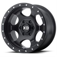 KMC XD131 RG1 Satin Black Wheel 17x9 5x5 W/4.50 BS XD13178050700