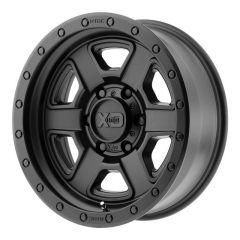 KMC XD133 Fusion Off-Road Satin Black Wheel 17x9 5X5 w/4.50BS XD13379050712N