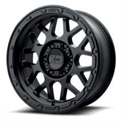 KMC XD135 Grenade Matte Black 17x8.5 Wheel 5x5 W/4.75 BS XD13578550700
