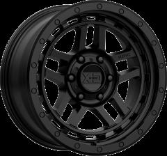 KMC XD140 Recon Satin Black Wheel 17x9 5X5 w/4.5BS XD14079050712N