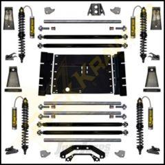 Rock Krawler Rock Runner System Stage 2 (Remote Reservoirs) Lift Kit For 1987-95 Jeep Wrangler YJ Models YJRNRS2