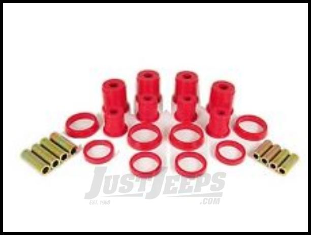 Rugged Ridge 18362.01 Red Front Control Arm Bushing Kit