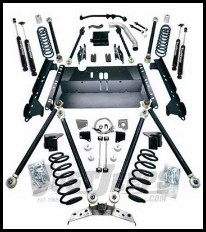 Just Jeeps Teraflex 4 Suspension Lift Kit With Shocks Pro Lcg For